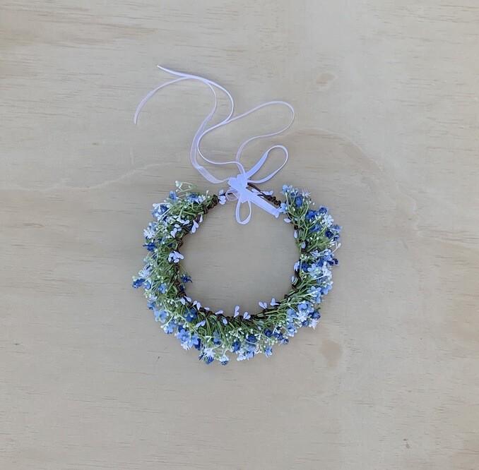 Blue Sprite Flower Crown