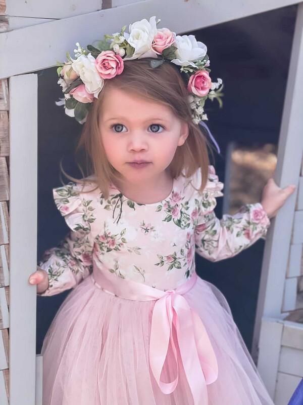 Audrey Rose Girls Winter Dress