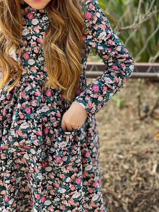 Blossom Girls Winter Dress