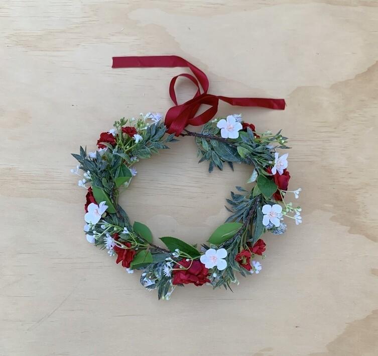 Estelle Girls Christmas Crown - PREORDER