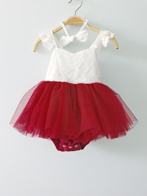 Zara Red Baby Girls Tutu Dress