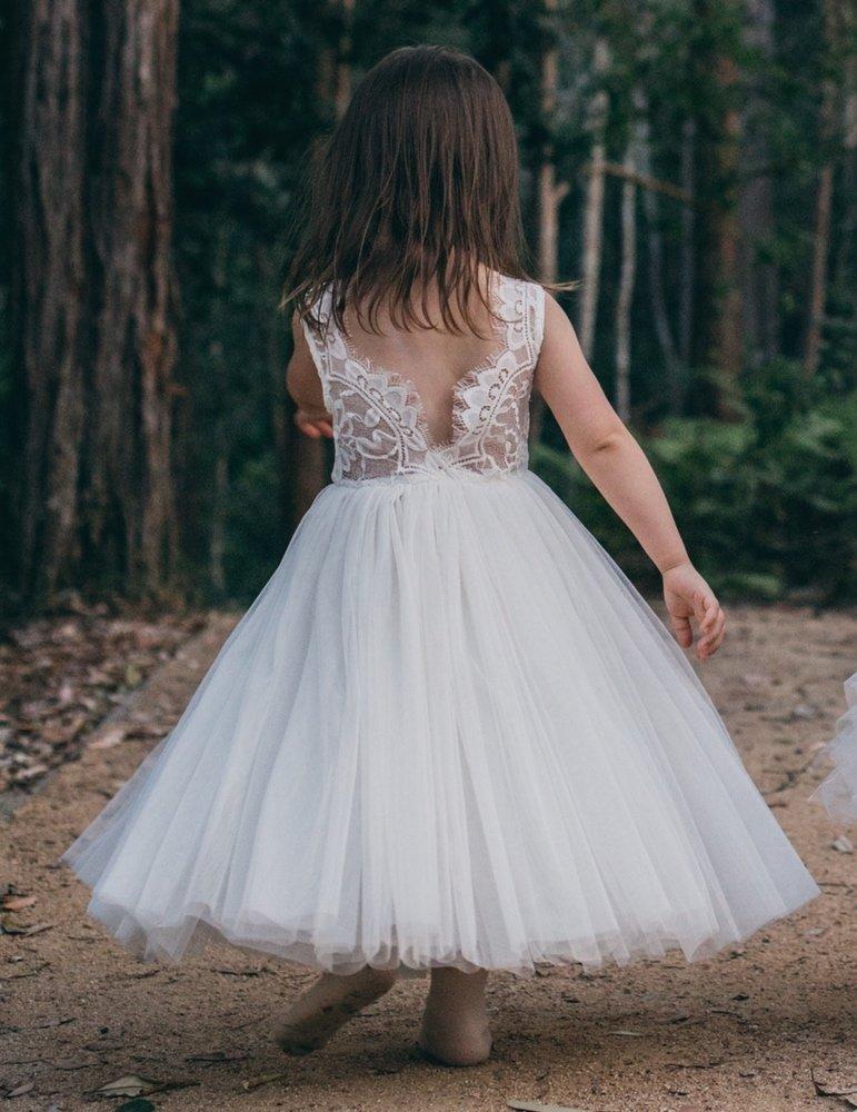 Juliette Dress Sleeveless | White