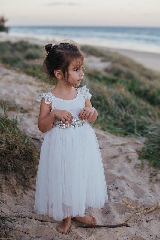 Enchanted Angel Tutu Dress | White