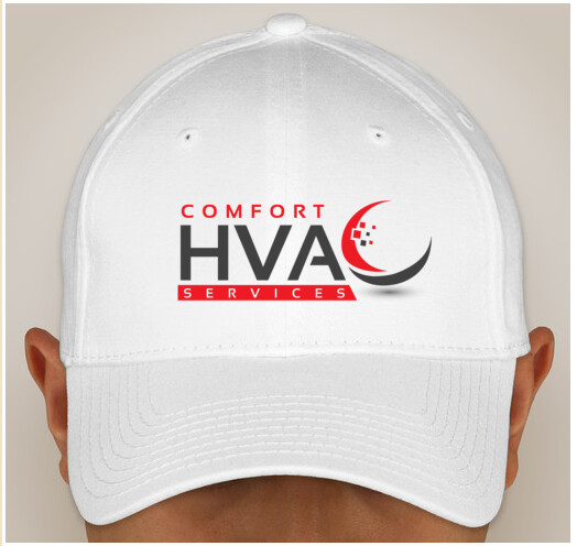 Comfort HVAC Embroidered Hats with DG on the Back