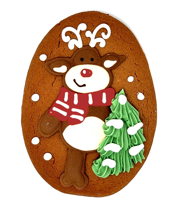 Bella Bakery - Gingerbread Reindeer Cookie