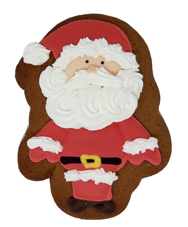 Bella Bakery - Gingerbread Santa Cookie