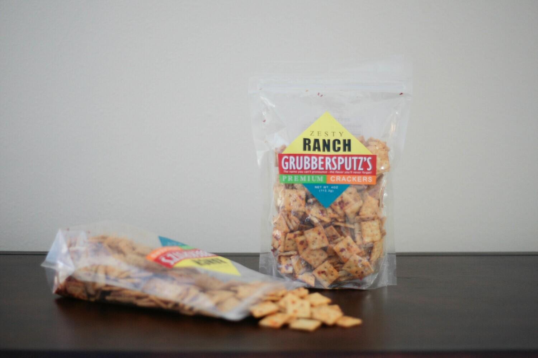 Grubbersputz's Premium Zesty Ranch Crackers - 3 pack