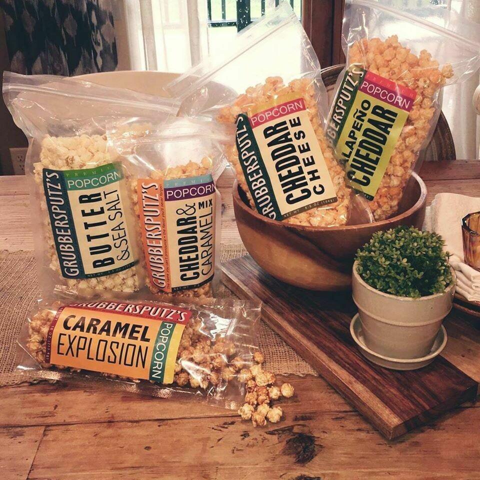 Grubbersputz's Premium Popcorn Variety Pack