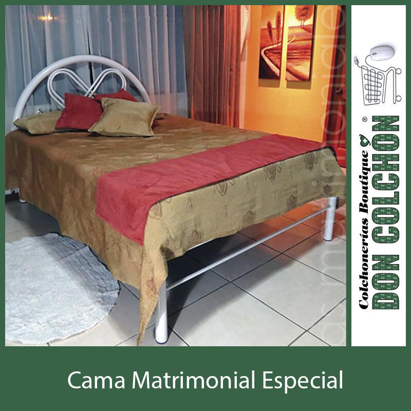 CAMA METAL MATRIMONIAL ESPECIAL