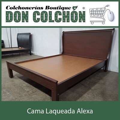 CAMA MATRIMONIAL ALEXA LAQUEADA