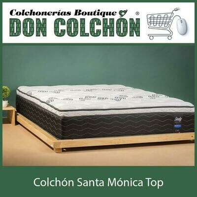 COLCHON MATRIMONIAL SANTA MONICA TOP SEALY