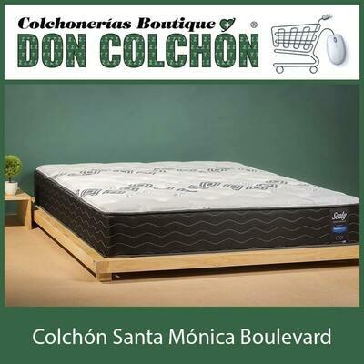 COLCHON QUEEN SANTA MONICA BOULEVARD SEALY