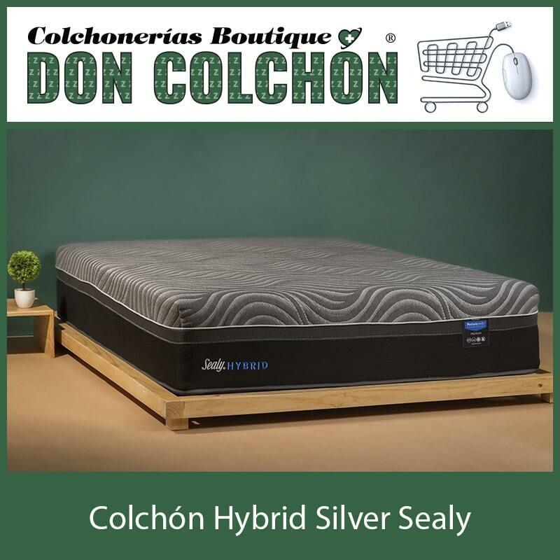 COLCHON KING HYBRID SILVER SEALY