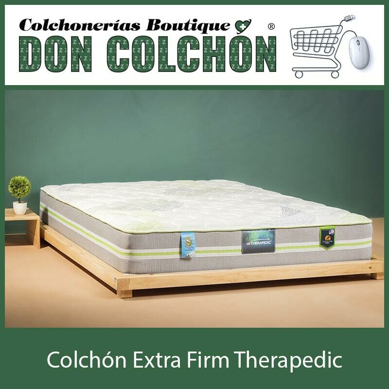 COLCHON TWIN EXTRA FIRM THERAPEDIC