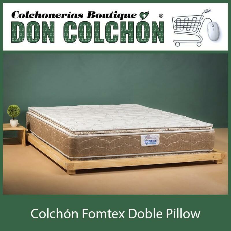 COLCHON MATRIMONIAL FOMTEX DOBLE PILLOW
