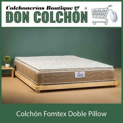 COLCHON QUEEN FOMTEX DOBLE PILLOW