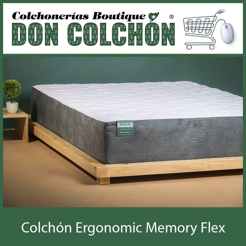 COLCHON INDIVIDUAL MEMORY FLEX ERGONOMIC