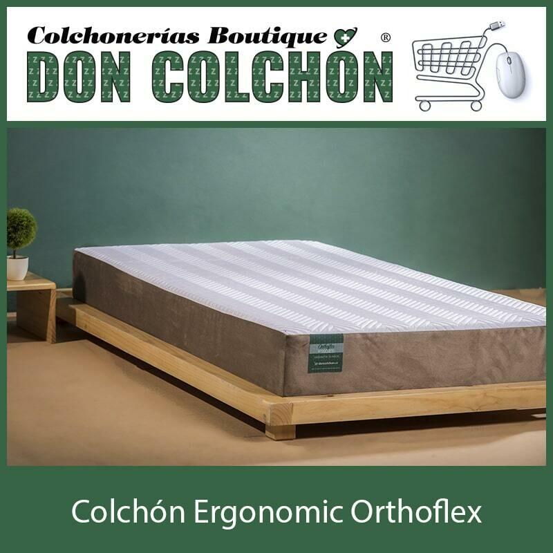 COLCHON KING ORTHOFLEX ERGONOMIC