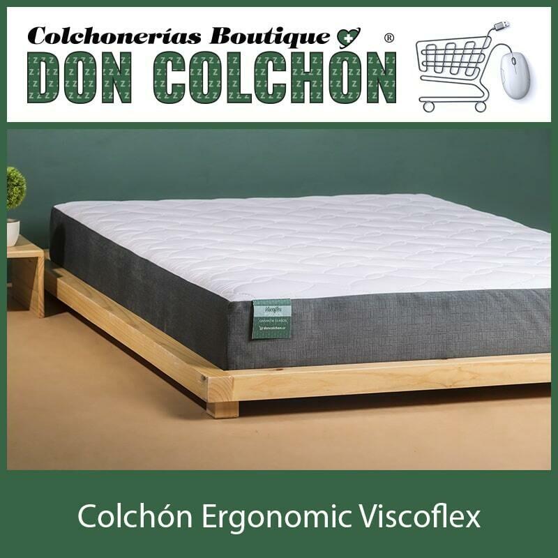COLCHON INDIVIDUAL ERGONOMIC VISCOFLEX