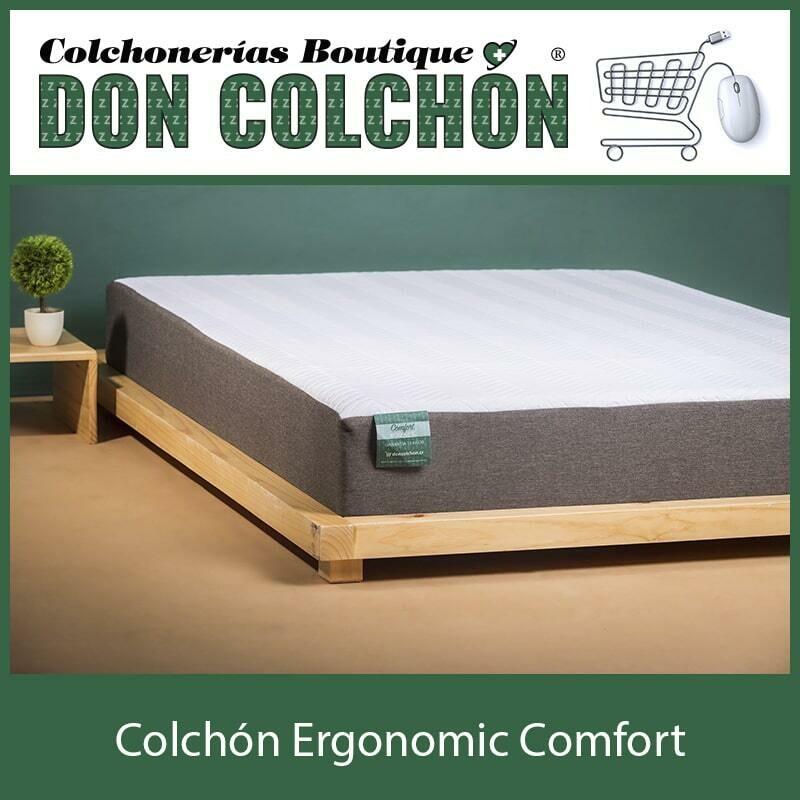 COLCHON QUEEN ERGONOMIC COMFORT