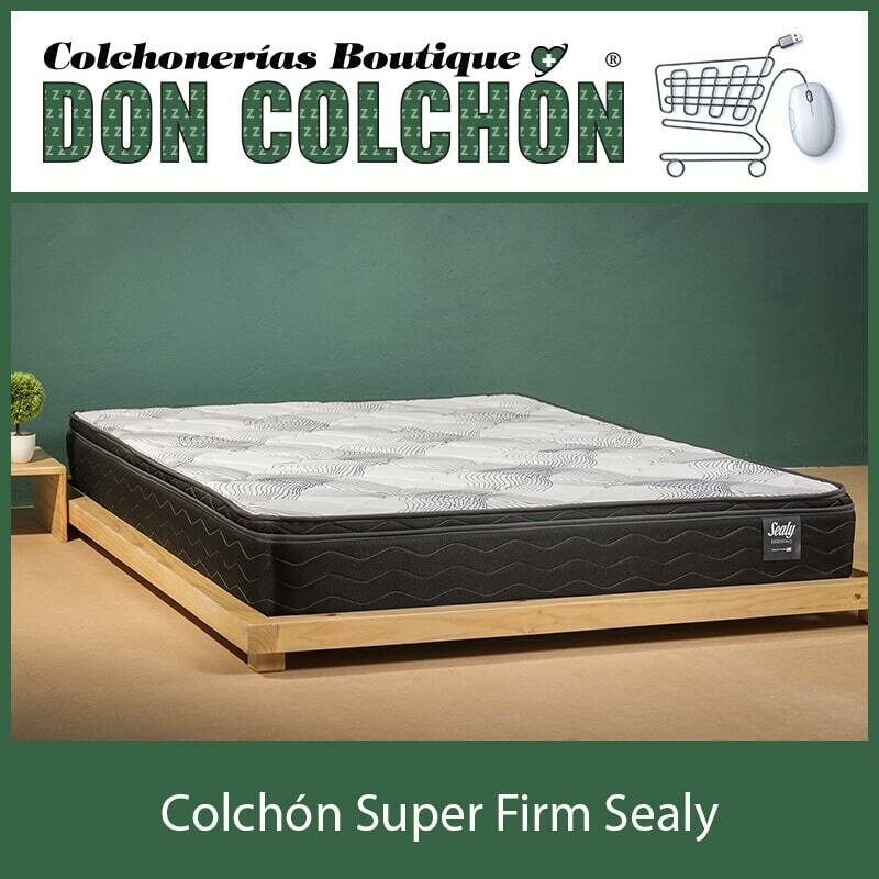 COLCHON QUEEN SUPER FIRM SEALY