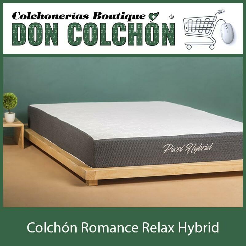 COLCHON QUEEN ROMANCE RELAX HYBRID