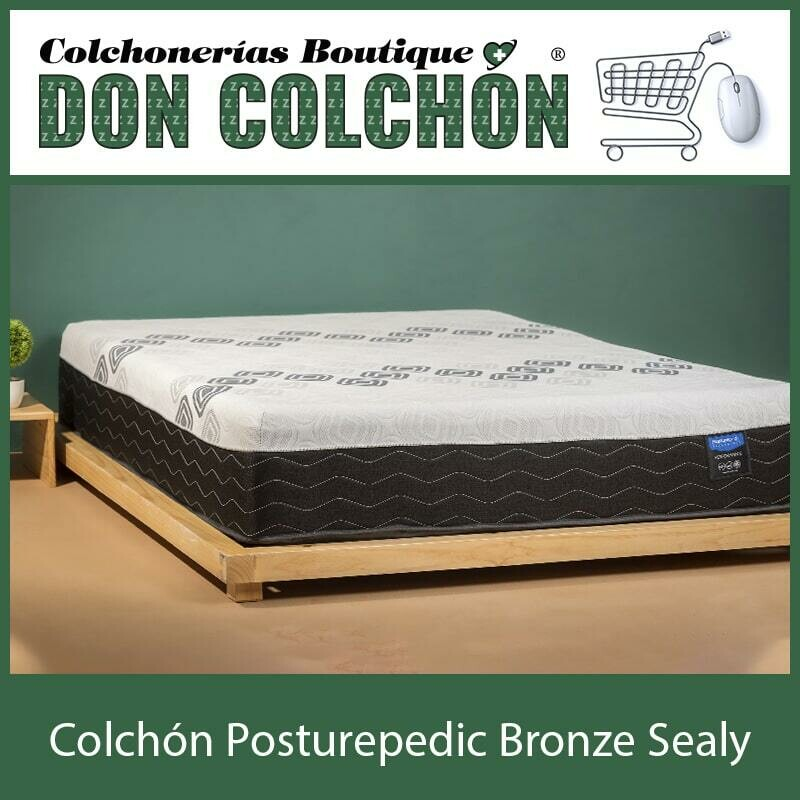 COLCHON US KING POSTUREPEDIC BRONZE