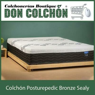 COLCHON KING POSTUREPEDIC BRONZE