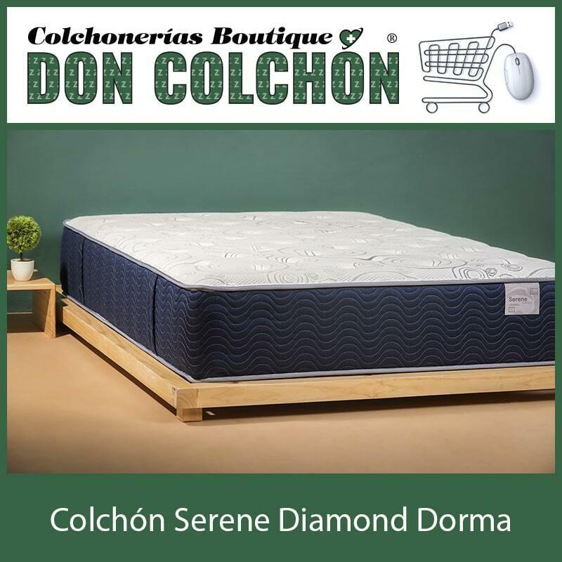 COLCHON INDIVIDUAL SERENE DIAMOND DORMA