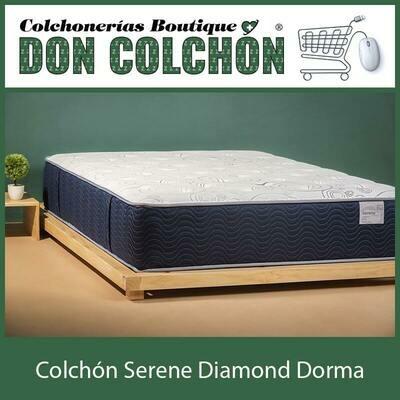 COLCHON QUEEN SERENE DIAMOND DORMA