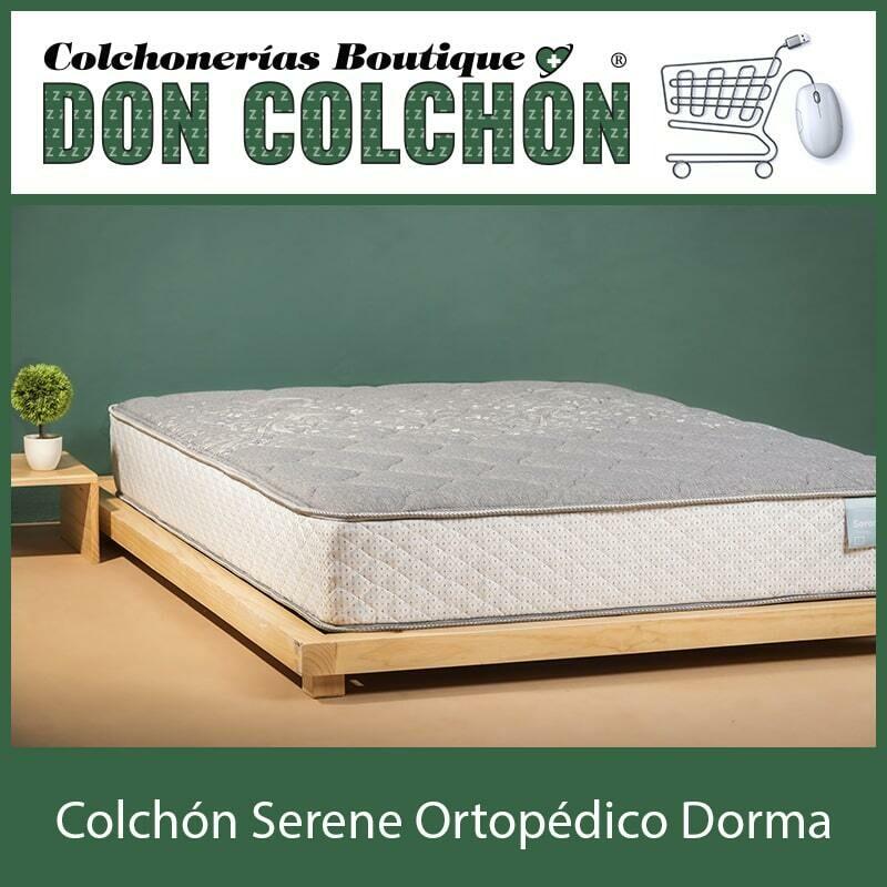 COLCHON MATRIMONIAL SERENE ORTOPEDICO DORMA