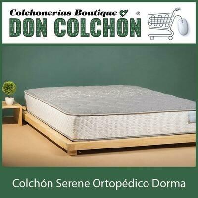 COLCHON QUEEN SERENE ORTOPEDICO DORMA