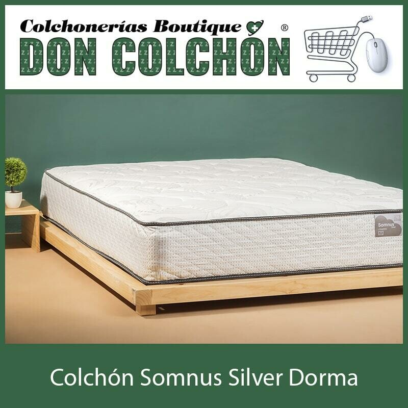 COLCHON QUEEN SOMNUS SILVER DORMA