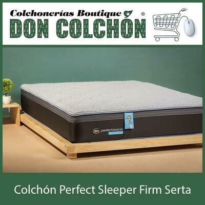COLCHON QUEEN PERFECT SLEEPER FIRM SERTA