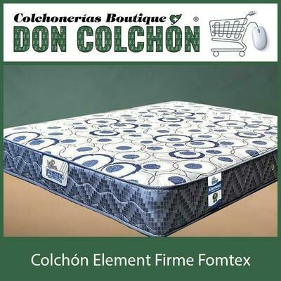 COLCHON INDIVIDUAL ELEMENT FIRME FOMTEX
