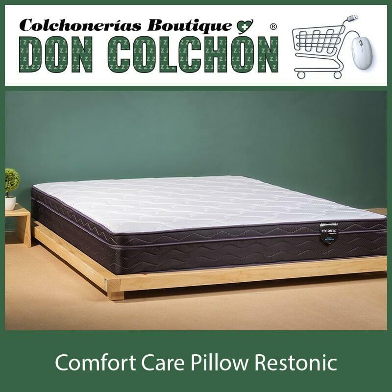 COLCHÓN QUEEN COMFORT CARE PILLOW RESTONIC