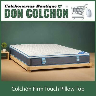 COLCHON QUEEN FIRM TOUCH PILLOW TOP
