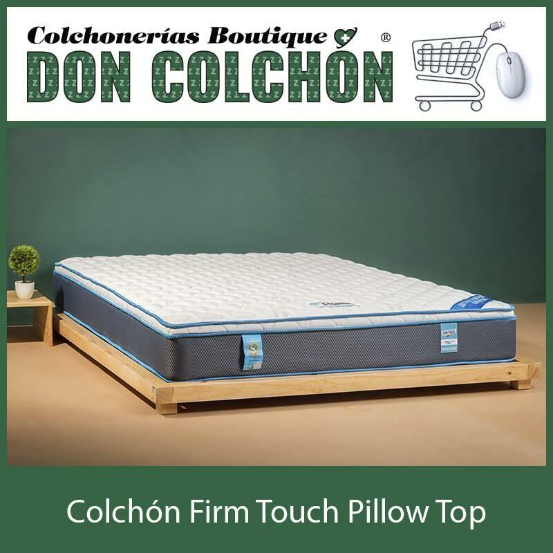 COLCHON MATRIMONIAL FIRM TOUCH PILLOW TOP
