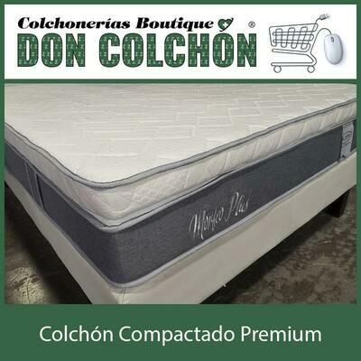 COLCHON QUEEN COMPACTADO MORFEO PLUS