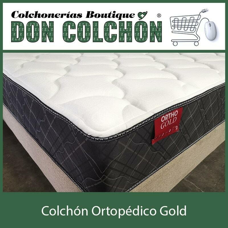 COLCHON MATRIMONIAL ORTOPEDICO GOLD