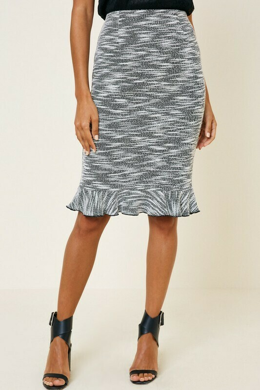Ruffle Pencil Skirt  L & M Only left