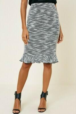 Ruffle Pencil Skirt - Stretchy!!