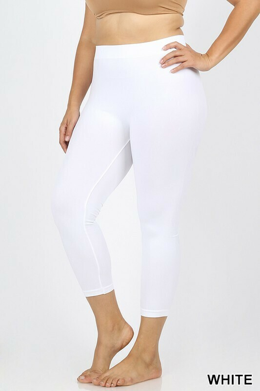 Capri Leggings  1X/2X & 2X/3X  Lots of Colors!!