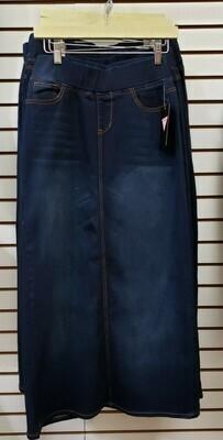Elastic Waistband Long Skirt  3XL to XS!