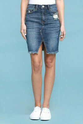 Judy Blue Denim Pencil Skirt  3X to S!!