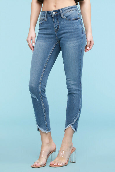 Tulip Front Skinny Jeans Only Size 11 & 7 Left!!