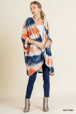 TyeDye Kimono Only 1 1X/2X Left!!