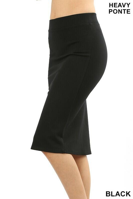 Ponte Pencil Skirt 3X to S!!!