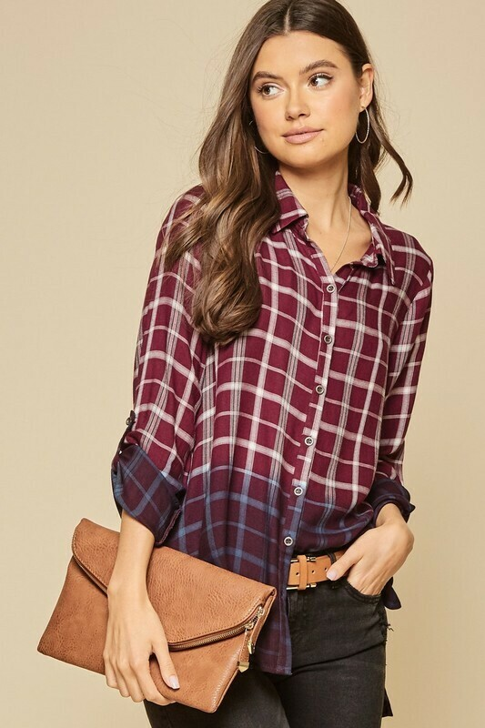 Ombre Plaid