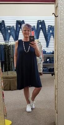 Sleeveless Round Neck Dress  3X to S!!!